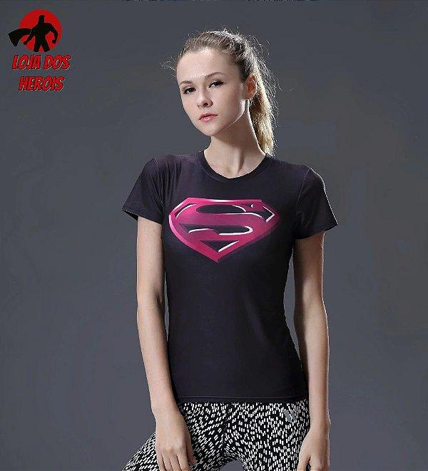 Camisa Feminina Superman