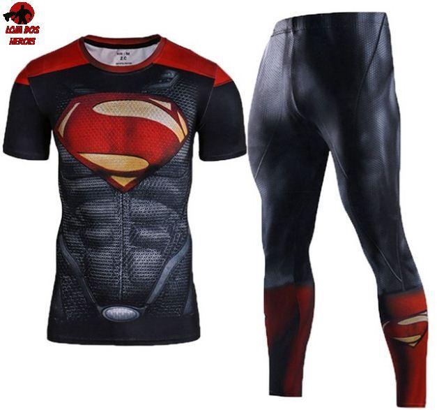 Conjunto Calça Superman Red Curta