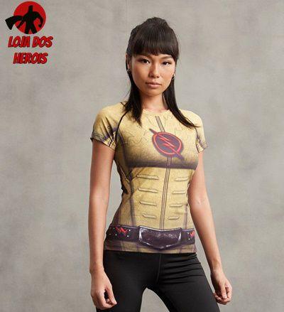 Camisa Feminina Flash Reverso Mod ll