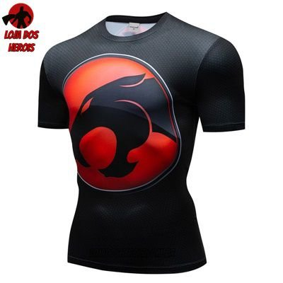 Camiseta Desenho Thundercats Compressão
