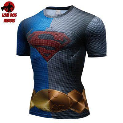 Camiseta Batman Vs Superman Compressão