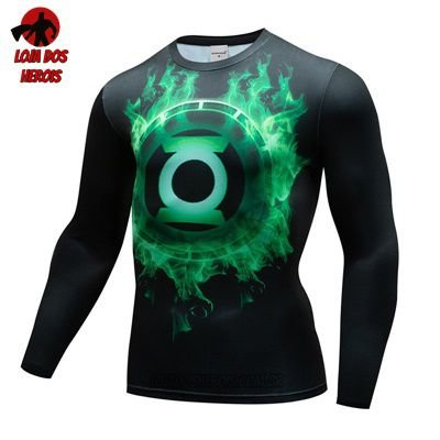 Camiseta Lanterna Verde Manga