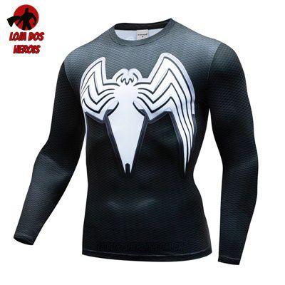 Camiseta Venom Manga
