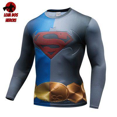 Camiseta Batman Vs Superman Manga