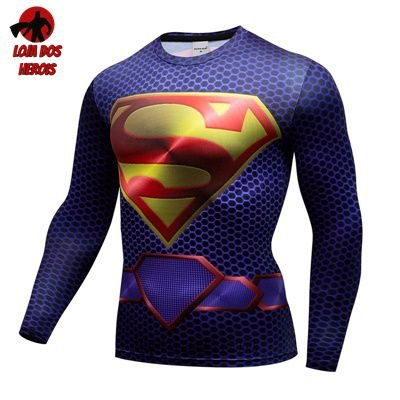 Camiseta Superman Filme Manga