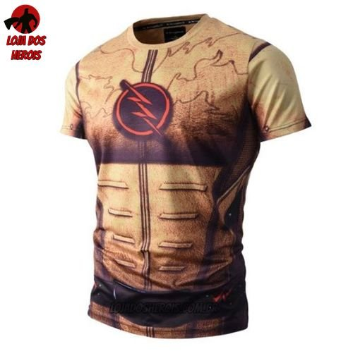 Camisa/Camiseta Flash Reverso Compressão