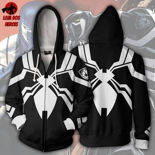 Jaqueta/Blusa - Homem Aranha Anti-Venom