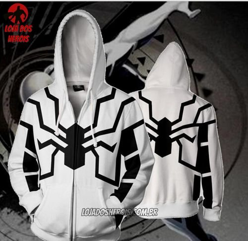 Jaqueta/Blusa Homem Aranha Fundação Futuro