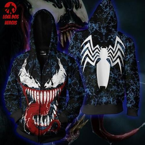 Jaqueta/Blusa Venom Ultimate