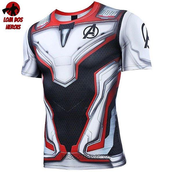 Camisa/Camiseta Uniforme Vingadores  Ultimato - Endgame