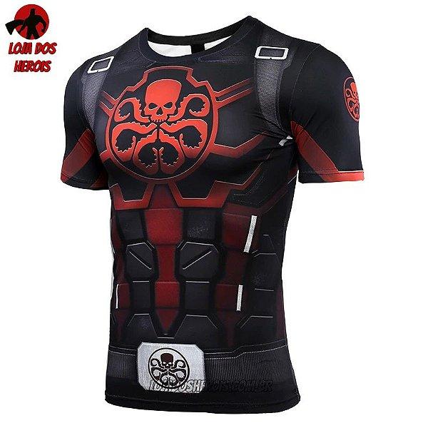 Camisa/Camiseta Capitão América Hidra Vingadores Ultimato