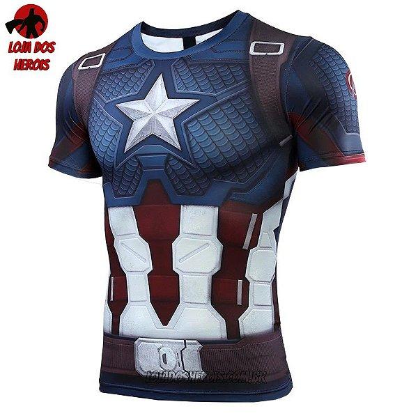 Camisa/Camiseta Capitão América Vingadores Ultimato Endgame