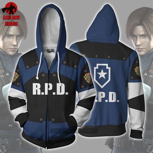 Jaqueta/Blusa R.P.D - Resident Evil