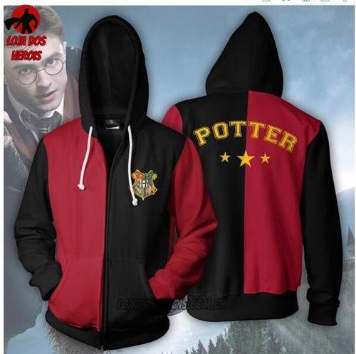 Jaqueta/Blusa Harry Potter