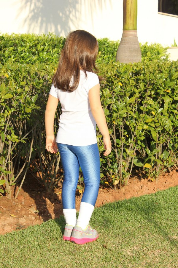 Legging azul Alpes