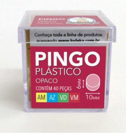 CAIXA ACRÍLICA - PINGO PLÁSTICO - MINI PEÇAS