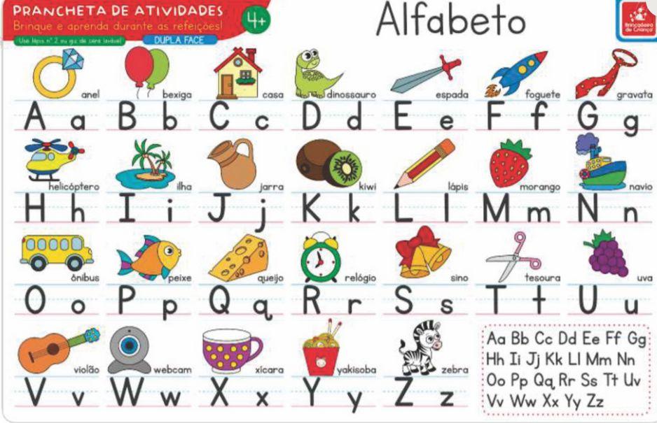 JOGO AMERICANO ALFABETO COM ATIVIDADES