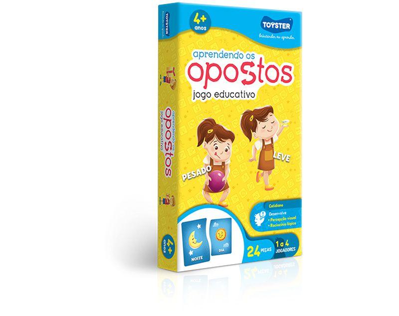 APRENDENDO OS OPOSTOS - 24 PEÇAS