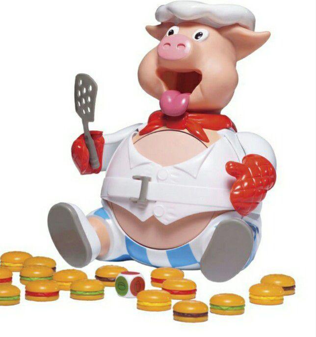 PORQUINHO COMILÃO - POP THE PIG