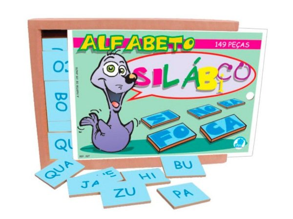 ALFABETO SILÁBICO - 149 PEÇAS