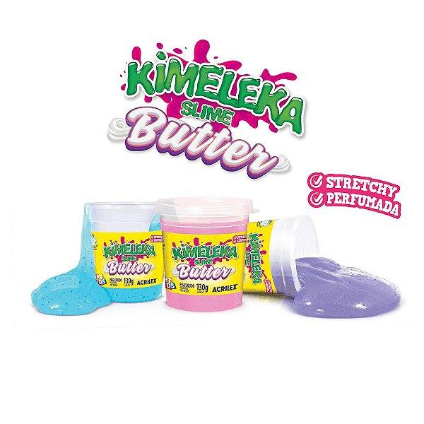 KIMELEKA SLIME BUTTER - COM CHEIRINHO DE FRUTAS