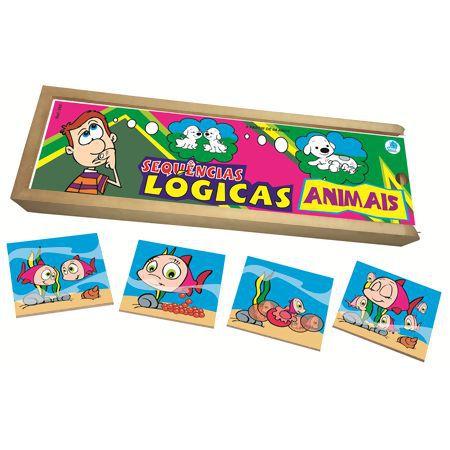 SEQUÊNCIAS LÓGICAS ANIMAIS