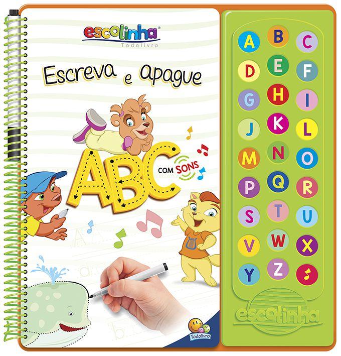 ESCUTE E APRENDA! ABC COM SONS