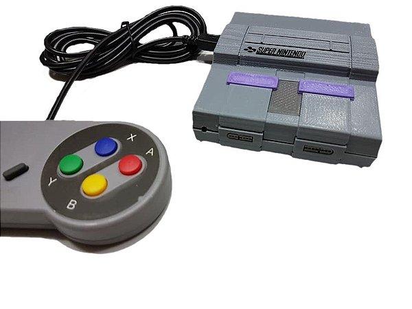 Mini Console Super Nintendo Multijogos - 10.000 jogos