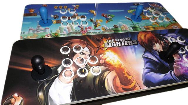 Fliperama Portátil 10.000 jogos - Controle duplo Multijogos Zero Delay 64 GB Modelo Clássico