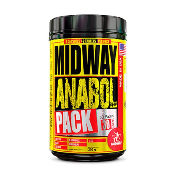 Anabol Pack USA - 30 Pack - Midway