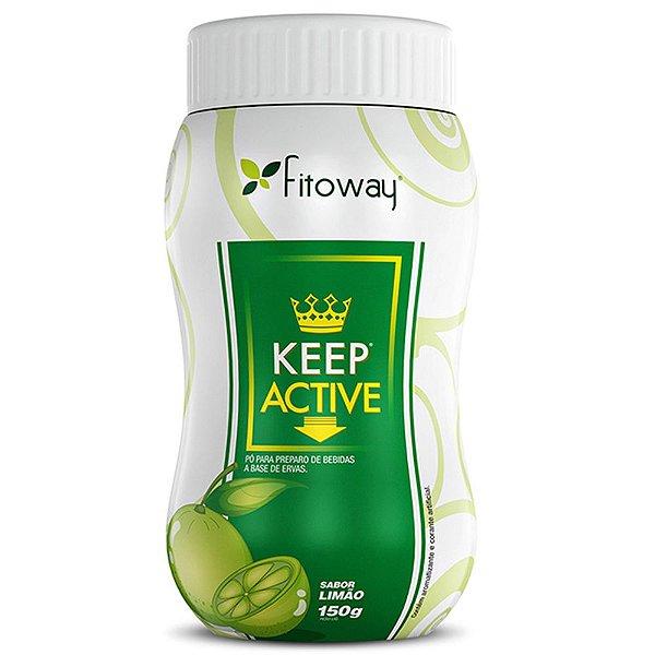 Chá Keep Active Limão - 100g -  Fitoway
