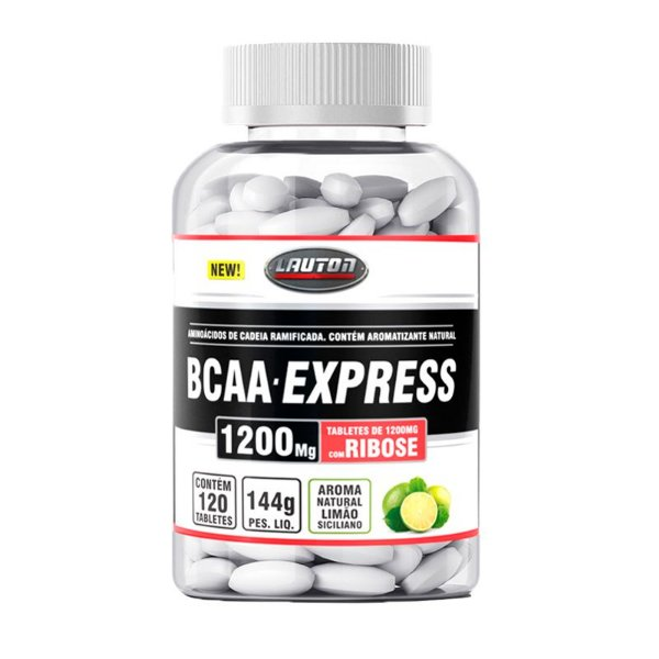 BCAA Express 1200mg - 120 Tabletes - Lauton