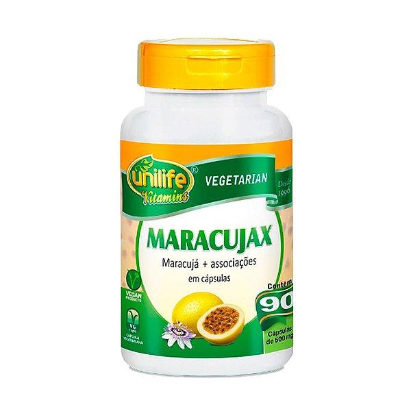 Maracujax (calmante natural) - 90 Cápsulas - Unilife