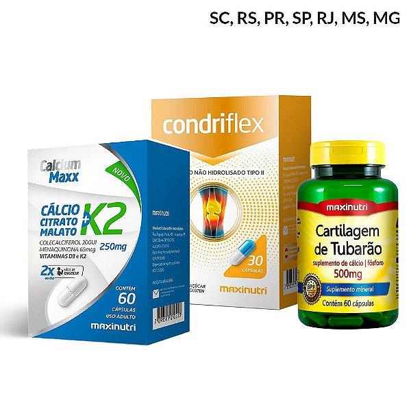 Combo Saúde dos Ossos e Articulações - Maxinutri