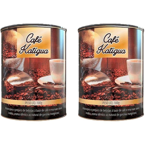 Café com Erva Mate - 2 unidades de 100 Gramas - Katigua