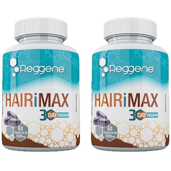 HairiMax Cabelos e Unhas - 2 unidades de 60 Cápsulas - Katigua Reggene