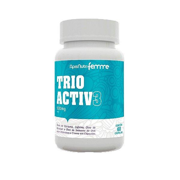 Trio Activ3 - 60 Cápsulas - Apisnutri