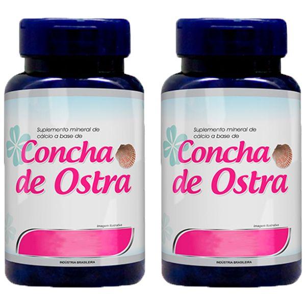 Cálcio a base de Concha de Ostra - 2 unidades de 120 Cápsulas - Promel