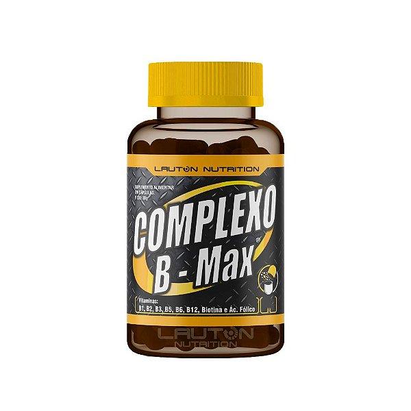 Complexo B Max - 120 Cápsulas - Lauton