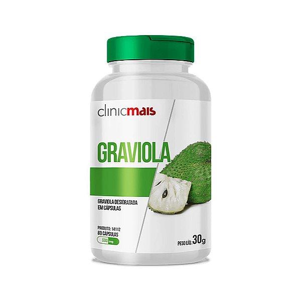 Graviola - 60 Cápsulas - Clinic Mais