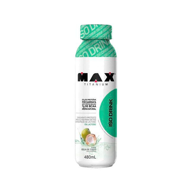 Iso Drink - 480 ml - Max Titanium