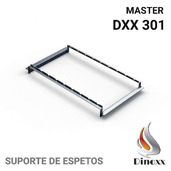 Suporte de espetos (opcional) para churrasqueira Master DXX 301 - DINOXX