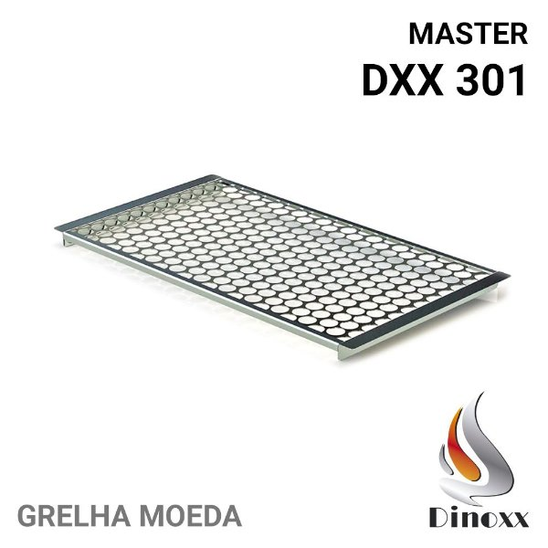 Grelha moeda (opcional) para churrasqueira Master DXX 301 - DINOXX