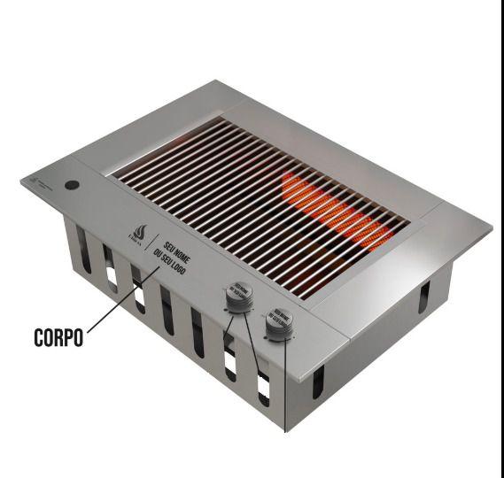 Personalização do Corpo  churrasqueira Compact DXX 300 - DINOXX