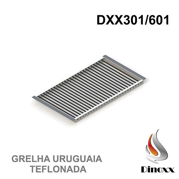 Grelha Uruguaia (opcional) para churrasqueira DXX 301/601 - TEFLONADA - DINOXX