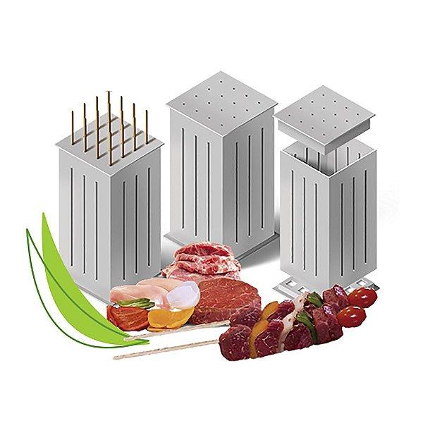 Máquina Formadora de Espetinho de Carne Brochette Express®
