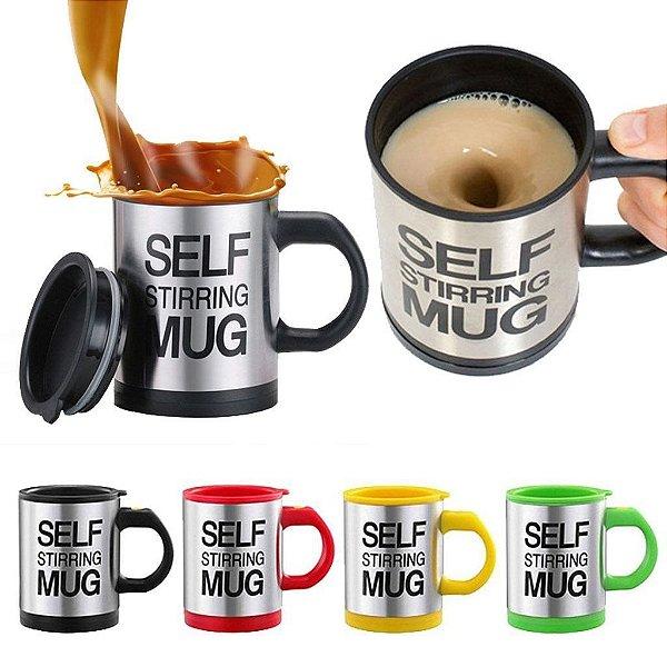 Caneca com Mexedor Automático - Original Self Stirring Mug®