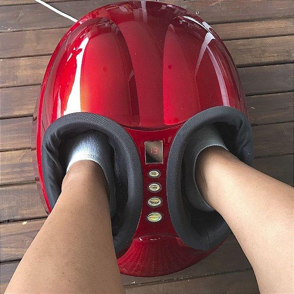 Massageador de Pés Sistema Shiatsu + Sistema Airbags  Foot Massager®