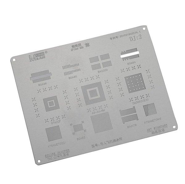 Stencil BGA MaAnt T-0.20 DJ2