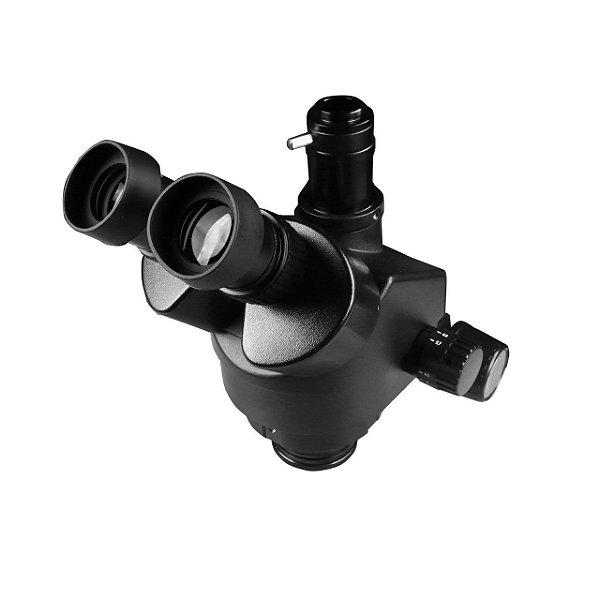 Cabeça Microscopio Trinocular 37045 Preta